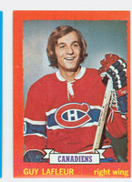 1973-74 Topps Hockey Guy LaFleur Montreal Canadiens Excellent to Mint