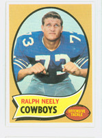 1970 Topps Football 4 Ralph Neely ROOKIE Dallas Cowboys Near-Mint Plus