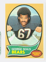 1970 Topps Football 12 George Seals Chicago Bears Near-Mint to Mint