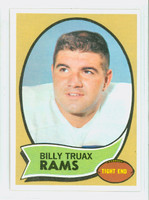 1970 Topps Football 18 Billy Truax Los Angeles Rams Near-Mint to Mint
