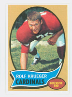 1970 Topps Football 26 Rolf Krueger St. Louis Cardinals Excellent to Mint