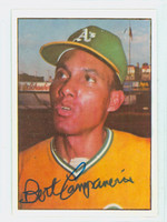 Bert Campaneris AUTOGRAPH 1975 SSPC Superstars Athletics 
