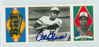 Al Oliver AUTOGRAPH 1993 Upper Deck All-Time Heroes T202 Design Pirates 