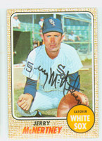 Jerry McNertney AUTOGRAPH 1968 Topps #14 White Sox 
