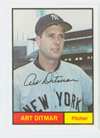 Art Ditmar AUTOGRAPH Galasso 1961 World Champion New York Yankees 