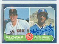 Mickey Brantley AUTOGRAPH 1986 Fleer ROOKIE Mariners 