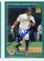 Enrique Wilson AUTOGRAPH 2001 Topps Pirates 