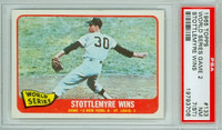 1965 Topps Baseball 133 World Series GM 2 PSA 7 ST