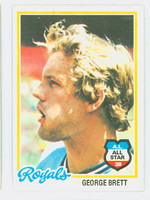 1978 Topps Baseball 100 George Brett Kansas City Royals Excellent