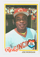1978 Topps Baseball 300 Joe Morgan Cincinnati Reds Near-Mint