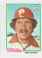 1978 Topps Baseball 360 Mike Schmidt Philadelphia Phillies Excellent to Mint