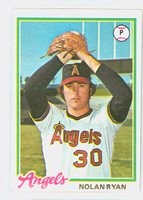 1978 Topps Baseball 400 Nolan Ryan California Angels Excellent