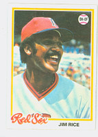1978 Topps Baseball 670 Jim Rice Boston Red Sox Near-Mint