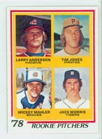 1978 Topps Baseball 703 Rookie Pitchers Excellent to Mint
