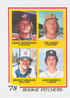 1978 Topps Baseball 703 Rookie Pitchers Near-Mint to Mint