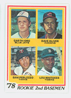 1978 Topps Baseball 704 Rookie 2nd basemen Near-Mint