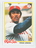 1978 Topps Baseball 720 Fergie Jenkins Boston Red Sox Near-Mint