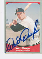 Walt Dropo AUTOGRAPH d.10 1988|89 Pacific Legends  