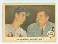 1959 Fleer Ted Williams 42 Slowed by Injury Excellent to Mint
