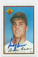 Andy Benes AUTOGRAPH 1989 Bowman Padres 