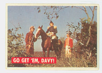 1956 Davy Crockett Green 12 Go Get 'Em, Davy Good to Very Good