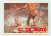 1956 Davy Crockett Green 31 Finish 'Em, Davy Good to Very Good
