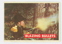 1956 Davy Crockett Green 17 Blazing Bullets Very Good to Excellent