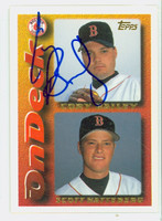Cory Bailey AUTOGRAPH 1995 Topps On Deck Red Sox 