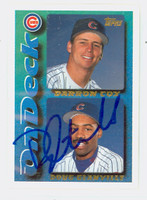 Doug Glanville AUTOGRAPH 1995 Topps On Deck Cubs 