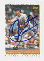 Rusty Meacham AUTOGRAPH 1995 Topps Royals 