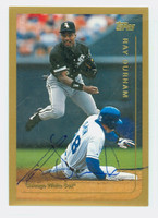 Ray Durham AUTOGRAPH 1999 Topps White Sox 