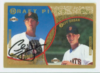 Chris Jones AUTOGRAPH 1999 Topps Giants 