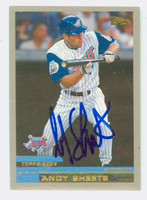 Andy Sheets AUTOGRAPH 2000 Topps Angels 