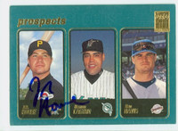 J.R. House AUTOGRAPH 2001 Topps Pirates 
