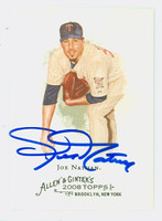 Joe Nathan AUTOGRAPH 2008 Topps Allen and Ginter Twins 