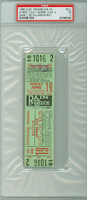 1960 Cleveland Indians FULL TICKET vs Boston Red Sox Ted Williams HR #501 - June 19, 1960 Very Good