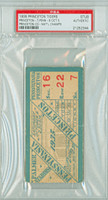 1935 Princeton Tigers College Football Ticket Stub vs Penn - Oct 5, 1935 PSA/DNA Authentic