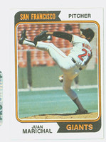 1974 Topps Baseball 330 Juan Marichal San Francisco Giants Excellent to Mint