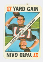1971 Topps Football Game 2 Bob Berry Atlanta Falcons Near-Mint