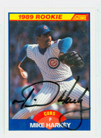 Mike Harkey AUTOGRAPH 1989 Score Cubs 