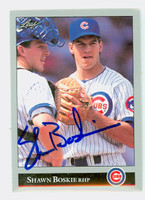 Shawn Boskie AUTOGRAPH 1992 Leaf Cubs 