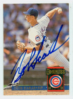 Bob Scanlan AUTOGRAPH 1994 Donruss Cubs 