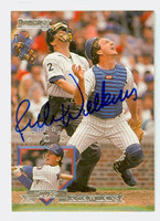 Rick Wilkins AUTOGRAPH 1995 Donruss Cubs 