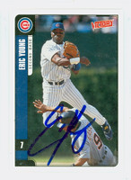 Eric Young AUTOGRAPH 2001 Upper Deck Victory Cubs   [SKU:YounE13928_UPVICT01]