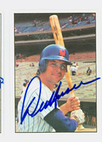 Del Unser AUTOGRAPH 1975 SSPC Mets 
