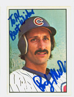 Rudy Meoli AUTOGRAPH 1978 SSPG All Star Gallery Cubs PERS