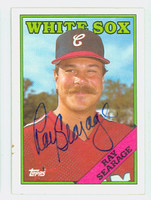 Ray Searage AUTOGRAPH 1988 Topps White Sox 