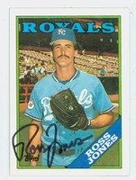 Ross Jones AUTOGRAPH 1988 Topps Royals 
