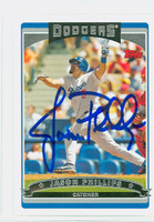 Jason Phillips AUTOGRAPH 2006 Topps Dodgers 