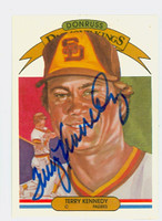 Terry Kennedy AUTOGRAPH 1983 Donruss Diamond King #26 Padres 